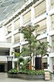 大厦门厅现代办公室 库存照片
