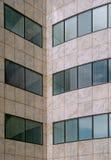 大厦门面现代办公室模式 免版税库存照片