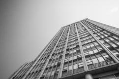 大厦门面现代办公室 免版税图库摄影