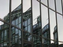 大厦雕琢了平面 库存图片