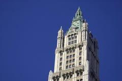 大厦顶部woolworth 免版税库存照片