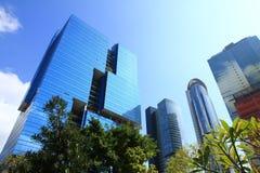 大厦香港办公室 免版税图库摄影