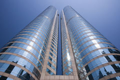大厦香港现代办公室 库存照片