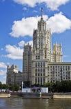 大厦高层莫斯科 库存图片