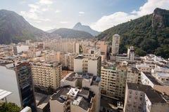 大厦鸟瞰图在里约热内卢 免版税库存图片