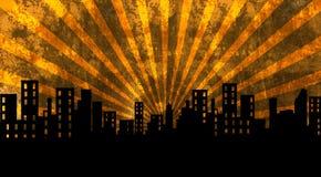 大厦,城市,都市风景 免版税库存照片