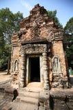 大厦吴哥寺庙(Bakong),柬埔寨 免版税库存照片