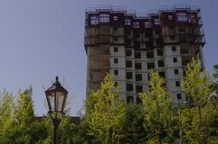 大厦建设中 免版税库存图片