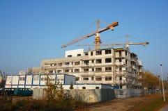 大厦建设中 图库摄影
