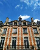 巴黎大厦 库存图片