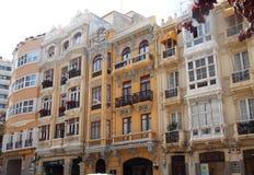 大厦Armonic结构加利西亚Acoruna 库存图片