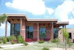 大厦galveston m得克萨斯大学 库存图片