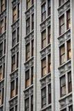 大厦Windows 免版税库存图片