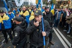 大变法的抗议 免版税图库摄影