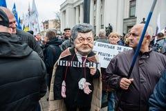 大变法的抗议 免版税库存照片