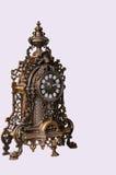 大古铜色时钟 库存图片