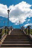 大台阶在方铅矿城市 图库摄影