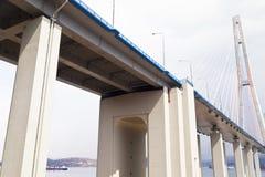 大吊桥 免版税图库摄影