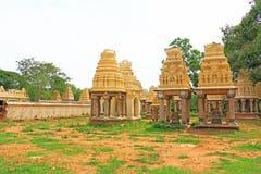 大君的纪念碑和坟茔迈索尔卡纳塔克邦印度 库存照片