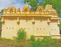 大君的纪念碑和坟茔迈索尔卡纳塔克邦印度 免版税图库摄影