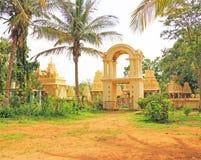 大君的纪念碑和坟茔迈索尔卡纳塔克邦印度 免版税库存图片