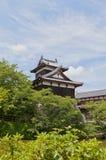 大和郡山城堡,日本Otemukaiyagura塔楼  免版税库存照片