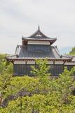 大和郡山城堡,日本Otemukaiyagura塔楼  免版税图库摄影