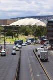 大哥伦比亚共和国大道在基多,厄瓜多尔 免版税图库摄影
