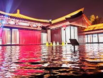 大唐不夜城——Ancient capital Chang`an stock photography