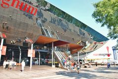 大商店Maremagnum在巴塞罗那 免版税库存照片