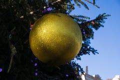 大圣诞节球 库存图片