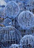 大圣诞节装饰结构树 免版税图库摄影