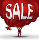 大圣诞节销售 图库摄影