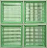 大块玻璃的模式 免版税库存照片