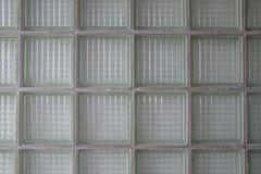 大块玻璃墙壁背景,玻璃瓦片 库存照片
