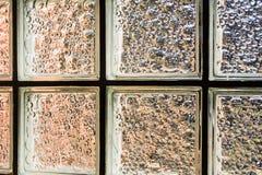 大块玻璃墙壁背景 库存图片