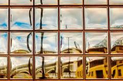 大块玻璃艺术 免版税库存图片