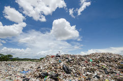大垃圾堆 免版税库存照片