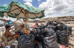 大垃圾堆 图库摄影