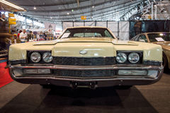 大型个人豪华汽车水星抢劫者X-100, 1969年 库存图片
