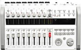 大型便携式的数字式混音器 免版税库存图片