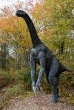 大型恐龙 库存图片