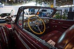 大型汽车Buick Roadmaster Convertible客舱, 1938年 免版税库存照片