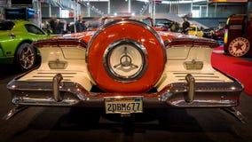 大型汽车Edsel步测器Convertible, 1958年 图库摄影