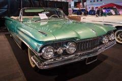 大型汽车Oldsmobile超级88 Convertible, 1959年 免版税库存图片