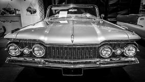 大型汽车Oldsmobile超级88 Convertible, 1959年 库存照片