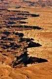 大型装配架峡谷俯视 库存图片