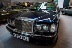 大型豪华汽车本特利Arnage红色标签, 2003年 库存图片