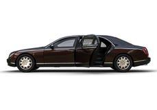 大型高级轿车汽车 向量例证