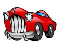大型高级轿车红色 库存图片